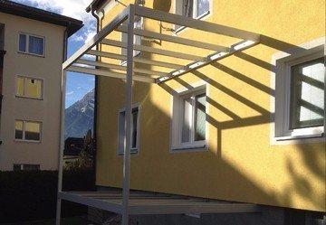 Stahlbau Balkon