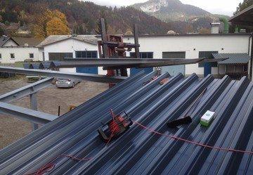 Stahlbau Carport